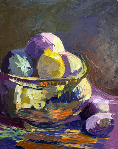 lorrie herman oil turnips and Brass