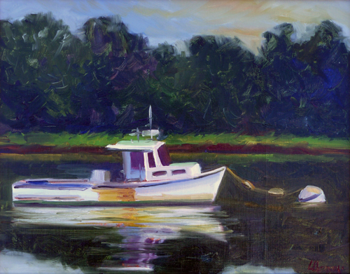 lorrie herman waterscapes Mosquito Boat